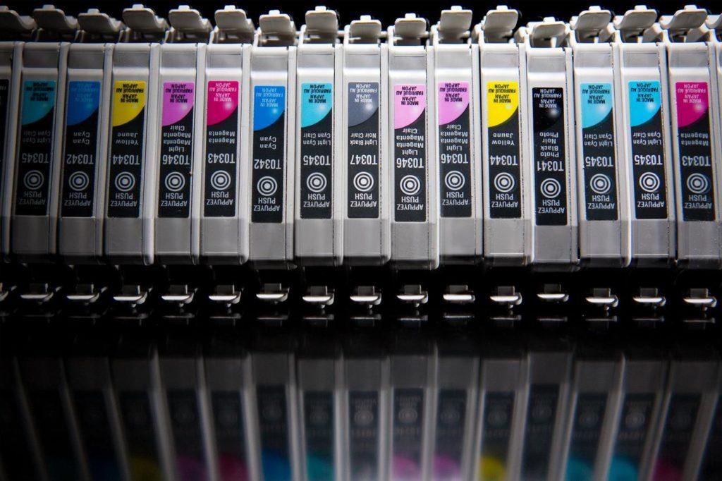 zalety drukowania atramentem